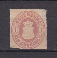 Oldenburg - 1862/67 - Michel Nr. 17 - Ungebr. - Oldenburg