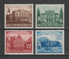 GERMANY 1941 Mi 764-767 LEIPZIG FAIR MNH ** - Nuevos