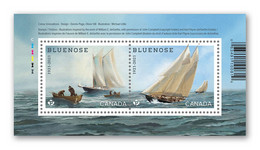 2021 Canada Ship Sailing Fishing Bluenose Boat Mini Sheet MNH - Unused Stamps