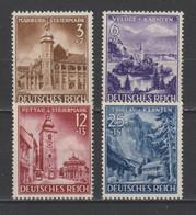 GERMANY 1941 Mi 806-809 LANDSCAPES MNH ** - Nuevos
