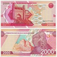 Uzbekistan - 2000 Sum 2021 UNC Lemberg-Zp - Ouzbékistan