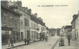 1913  Coulommiers - Avenue Gastellier   Animée - Coulommiers