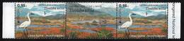 """MONTENEGRO /CRNA GORA  -EUROPA 2021 -ENDANGERED NATIONAL WILDLIFE""""- HORIZONTAL  GUTTER PAIR - 2020"""