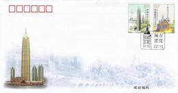 CHINA 2004 FDC SCOTT 3406-3407 - Covers & Documents