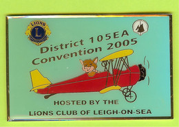 Gros Pin's Club Lions District 10 SEA Convention 2005 Avion - #329 - Associations