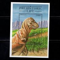 Uganda  1998    Dinosaurs  , Prehistoric Life - Uganda (1962-...)