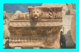 A928 / 979 Egypte Piece De Corniche De La Colonnade Du Temple De Jupiter - Ohne Zuordnung