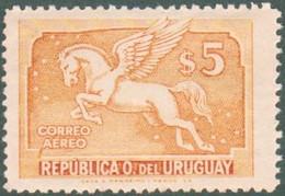 1935 URUGUAY New With Gum AIR MAIL Yvert A79 - Pegaso Pegasus - Uruguay