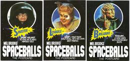 USP18110 Mel Brooks In Spaceballs Film TV / Advertising 3 CPM Postcards / BRILIANT / LOVEABLE / SINSITER - Pubblicitari