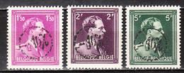 724B/F**  Leopold III Col Ouvert Surchargé -10% - GRAMMONT - Série Complète - MNH** - LOOK!!!! - 1946 -10 %