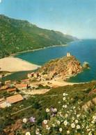 Dept 20-2A,Corse Du Sud,Cpm Porto,Le Hameau Au Pied Du Rocher Granitique Surmonté D'une Tour Génoise - Otros Municipios