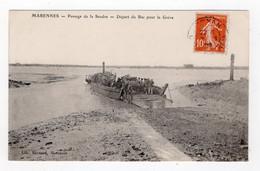 17 CHARENTE MARITIME - MARENNES Passage De La Seudre, Départ Du Bac Pour La Grève - Marennes
