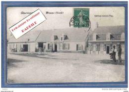 Carte Postale 59. Mardyck Près Dunkerque Café Au Grand Mardyck Et La Brasserie Jacobsoone Trés Beau Plan - Other Municipalities