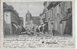 MONEIN - RUE DU COMMERCE - CARTE PRECURSEUR AVEC SUPERBE ANIMATION - 1904 - Other Municipalities