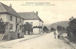 Excursion En Franche-Comté -vallée De La Loue-MONTGESOYE  - Route Nationale  -ed. Teulet - Otros Municipios