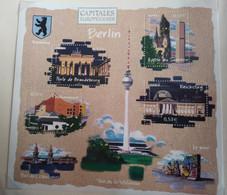 FRANCE BF N° 88 BERLIN CAPITALES EUROPÉENNES BLOC FEUILLET NEUF ** A LA FACIALE - Nuovi