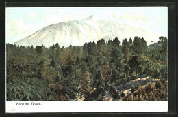 AK Tenerife, Pico De Teide, Schneebedeckter Vulkan - Unclassified