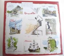 FRANCE BF N° 111 BRUXELLES BELGIQUE CAPITALES EUROPÉENNES BLOC FEUILLET NEUF ** A LA FACIALE - Nuovi