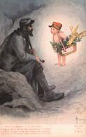 Illustration Solomko: L'Amour De La Patrie Leur Donnera La Victoire - Carte Non Circulée (reproduction?) - Solomko, S.
