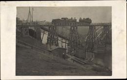 Photo CPA Kaliningrad Königsberg Ostpreußen, Eisenbahnbrücke - Ostpreussen