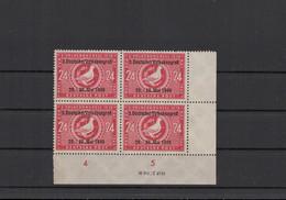 SBZ 1949 10x Nr 233 DV Postfrisch (213688) - Soviet Zone