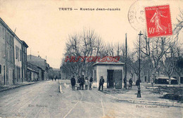 CPA TRETS - AVENUE JEAN JAURES - Trets