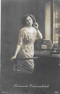 Allemagne - Deutsches Reich - Téléphone Telefon - Ich Erwarte Dich Pünktlich - Allo - - Poste & Facteurs
