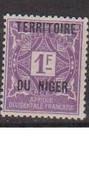 NIGER           N°  YVERT  :  TAXE 8  NEUF AVEC  CHARNIERES      (CH  4 / 23 ) - Nuevos