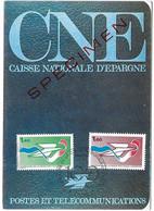 CNE Caisse Nationale D' Epargne Centenaire - Spécimen - Postes Et Télécommunications - Tad Paris 21 Septembre 1984 - Briefe U. Dokumente