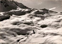 Flugaufnahme Arosa - Hörnli-Skigebiet * 30. 3. 1951 - GR Grisons