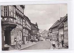 DC1329 - Ak Stolberg Harz Thomas-Müntzer-Gasse Belebte Straße Einkaufen V - Stolberg (Harz)