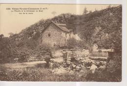 CPA-35-Ille Et Vilaine- VIEUX-VY-sur-COUESNON- Le Moulin Et Le Déversoir De Bray Vus De La Route- - Otros Municipios