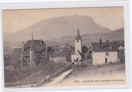 DC342 - Ak Auvernier Et La Montagne De Boudry Des Kantons Neuenburg In Der Schweiz - NE Neuenburg
