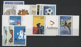 ANDORRE FRANCAIS 1994 ANNEE COMPLETE COTE 25.7 € N° 441 à 453 NEUFS ** (MNH). Vendue à 10% De La Cote. TB - Full Years