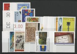 ANDORRE FRANCAIS 1998 ANNEE COMPLETE COTE 49.3 € N° 497 à 511 NEUFS ** (MNH). Vendue à 10% De La Cote. TB - Unused Stamps