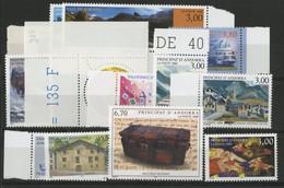 ANDORRE FRANCAIS 1999 ANNEE COMPLETE COTE 39.6 € N° 512 à 524 NEUFS ** (MNH). Vendue à 10% De La Cote. TB - Full Years