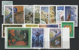 ANDORRE FRANCAIS 2003 ANNEE COMPLETE COTE 50.5 € N° 575 à 590 NEUFS ** (MNH). Vendue Sous La Valeur Faciale (-21%). TB - Unused Stamps