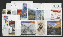 ANDORRE FRANCAIS 2004 ANNEE COMPLETE COTE 47.3 € N° 591 à 603 NEUFS ** (MNH). Vendue Sous La Valeur Faciale (-27%). TB - Full Years