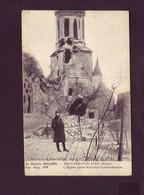 55 - GUERRE 14/18 - BEAUZE-sur-AIRE - L'ÉGLISE APRES LE BOMBARDEMENT - ANIMÉE - - Unclassified