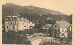 LE FAYET SAINT GERVAIS : CARREFOUR DE LA GARE ET LES HOTELS - Sonstige Gemeinden