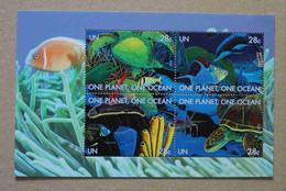 N1-E3 : Nations Unies (New-York) - Une Planète, Un Océan (fonds Marins) - Neufs