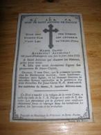 Image Pieuse En Tissus Bref De St Saint Antoine De Padoue De Brive Imp Bonamy Poitiers Porte Bonheur Tres Bon Etat - Images Religieuses