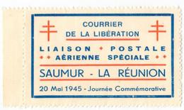 SAUMUR - LIBERATION Vignette Dentelée - Liberation