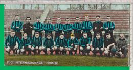 SQUADRA CALCIO. INTER. F. C. INTERNAZIONALE. 1960/61.  Dimensioni Cm. 21,05 X 10,05 -  -  XXX - Soccer