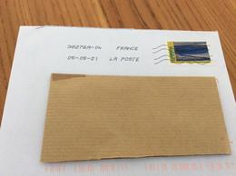 Lettre Avec Oblitération Mécanique Sur Timbre * «PÂTURAGES LOZÈRE» - Storia Postale