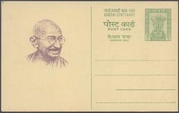 India 1969 - Mahatma Gandhi Birth Centenary. Postal Stationery Card. - Cartes Postales