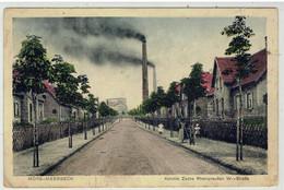 Mörs-Meerbeck - Nordrh. Westf.- Kolonie Zeche Rheinpreußen - W. Straße - Militär Post Belgien 1919 - Moers