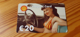 Shell Gift Card Germany - Woman - Cartes Cadeaux