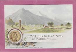FOVILLES ROMAINES DE MARTIGNY - VS Valais