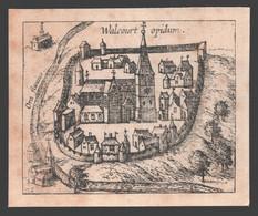 Walcourt - Chromo - Place Forte De Walcourt - 9 X 11 Cm - Pas De Carte Postale - Walcourt
